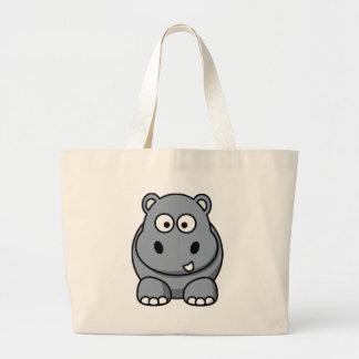 Cartoon Hippo Bag