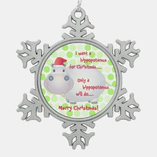 Hippopotamus Ornaments & Keepsake Ornaments | Zazzle