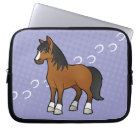 Cartoon Horse Computer Sleeve