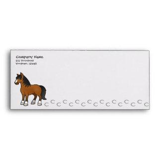 Cartoon Horse Envelope