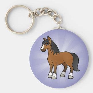 Cartoon Horse Keychain