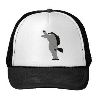 Cartoon Horse Lawer Trucker Hat