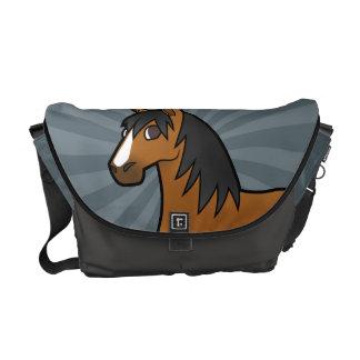 Cartoon Horse Courier Bags