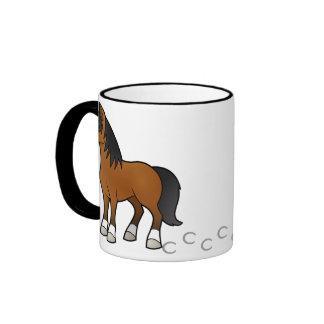 Cartoon Horse Mug