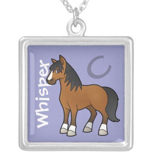 Cartoon Horse Pendant