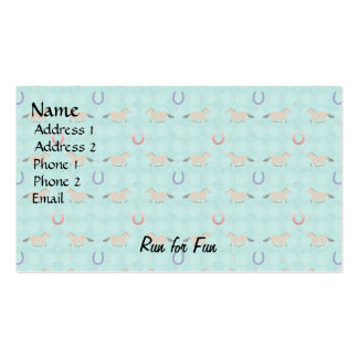 Cartoon Horse Pattern Double-Sided Standard Business Cards (Pack Of 100)