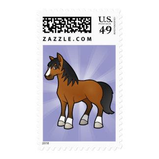 Cartoon Horse Postage