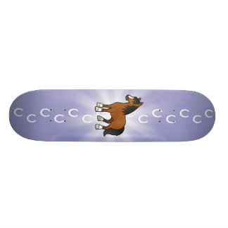 Cartoon Horse Skateboards