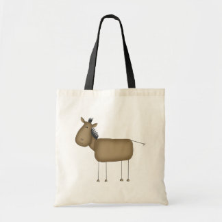 Cartoon Horse Tote Bag