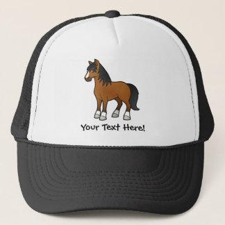 Cartoon Horse Trucker Hat