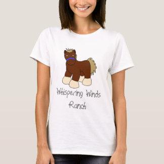 Cartoon Horse, Whispering Winds Ranch T-Shirt