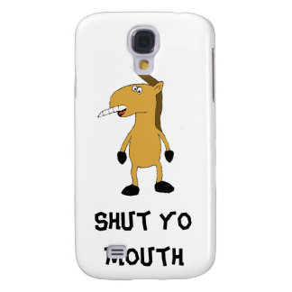 Cartoon Horse With Over Bite Galaxy S4 Cover