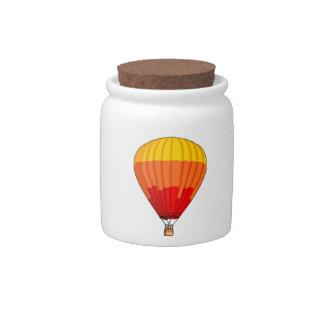 Cartoon Hot Air Ballon Candy Jars