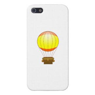 Cartoon Hot Air Ballon Case For iPhone 5