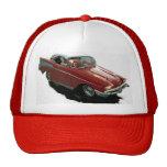 Cartoon hot rod Chevy Trucker Hat