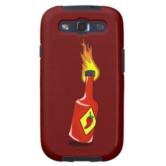 Cartoon Hot Sauce Samsung Galaxy SIII Cover