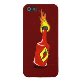Cartoon Hot Sauce iPhone 5 Cover