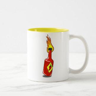 Cartoon Hot Sauce Mug