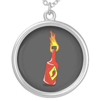 Cartoon Hot Sauce Necklace