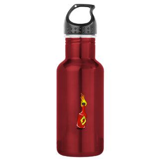 Cartoon Hot Sauce Water Bottle