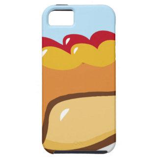 CARTOON HOTDOG HOT DOG KETCHUP RELISH MAYO MUSTARD iPhone 5 COVERS