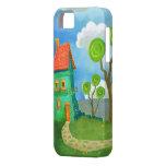 cartoon house casemate iPhone 5 case