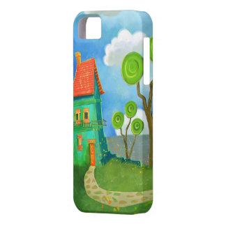 cartoon house casemate iPhone SE/5/5s case