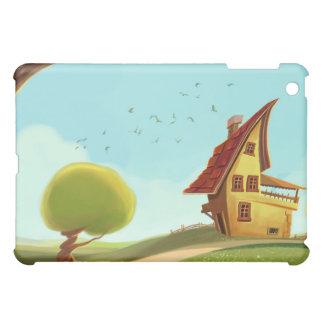 cartoon house iPad mini cases
