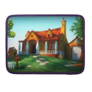 Cartoon House Sleeve