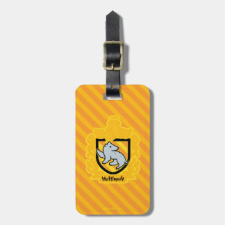 Cartoon Hufflepuff Crest Bag Tag