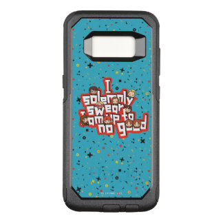 "Cartoon ""I solemnly swear"" Graphic OtterBox Commuter Samsung Galaxy S8 Case"