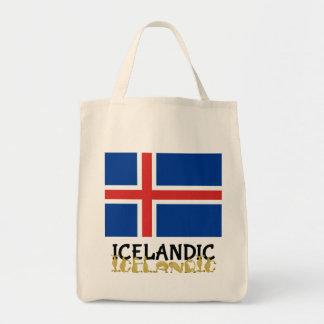 Cartoon  Icelandic Horse Tote Bag