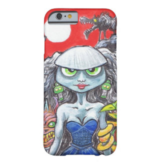 Cartoon illustration, gothic design. iphone. barely there iPhone 6 case