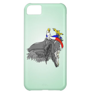 Cartoon Illustration of a Bald Eagle Case For iPhone 5C