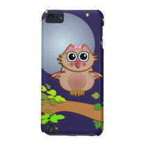 Cartoon iPod touch case Baby Owl's first flight