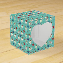 Cartoon Jack Russell Terrier Favor Box