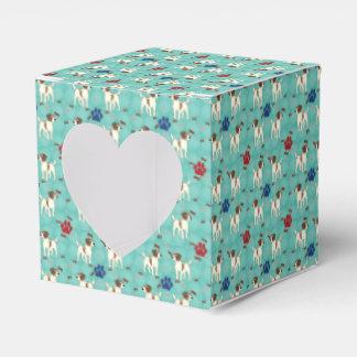 Cartoon Jack Russell Terrier Favor Box
