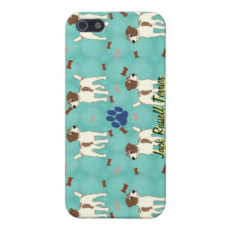 Cartoon Jack Russell Terrier iPhone SE/5/5s Cover