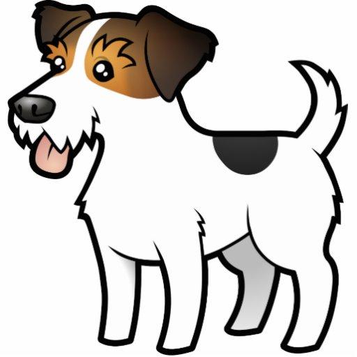 Cartoon Jack Russell Terrier Photo Sculpture Magnet Zazzle