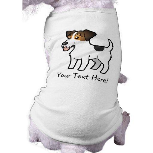 Cartoon Jack Russell Terrier Shirt