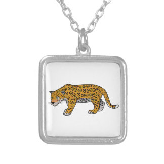Cartoon Jaguar Custom Necklace