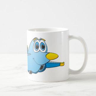 Cartoon Jet Coffee Mug