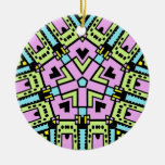 Cartoon Kaleidoscope 02 Christmas Tree Ornaments