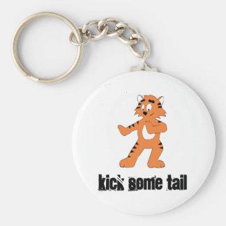 Cartoon Karate Tiger Keychain