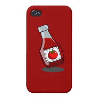 Cartoon Ketchup Bottle iPhone 4/4S Covers