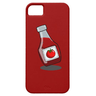 Cartoon Ketchup Bottle iPhone SE/5/5s Case