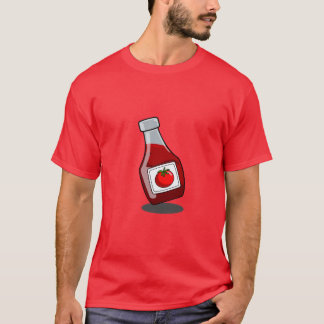 Cartoon Ketchup Bottle Shirt