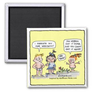 Cartoon Kids I Create My Own Reality Magnet