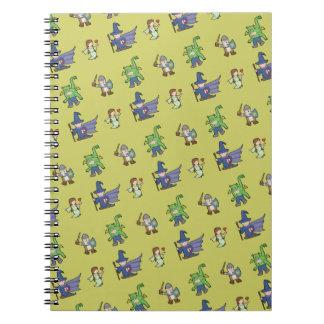 Cartoon Kids - Paper Notebook