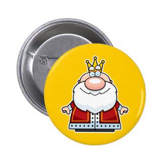 Cartoon King 2 Inch Round Button